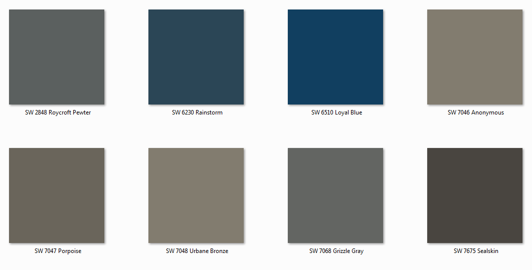The Lovely Side: Which paint color would you like to see ...