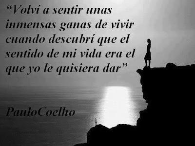 Paulo Coelho - El sentido de mi vida es...