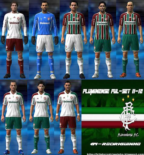 Fluminense 11-12 Kit Set by Rodriguinho
