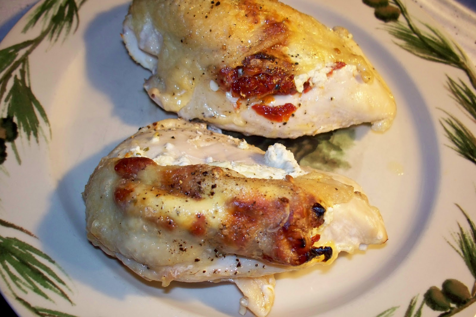 ... FOOD OF LOVE: Goat Cheese and Sun Dried Tomato Stuffed Chicken Breasts