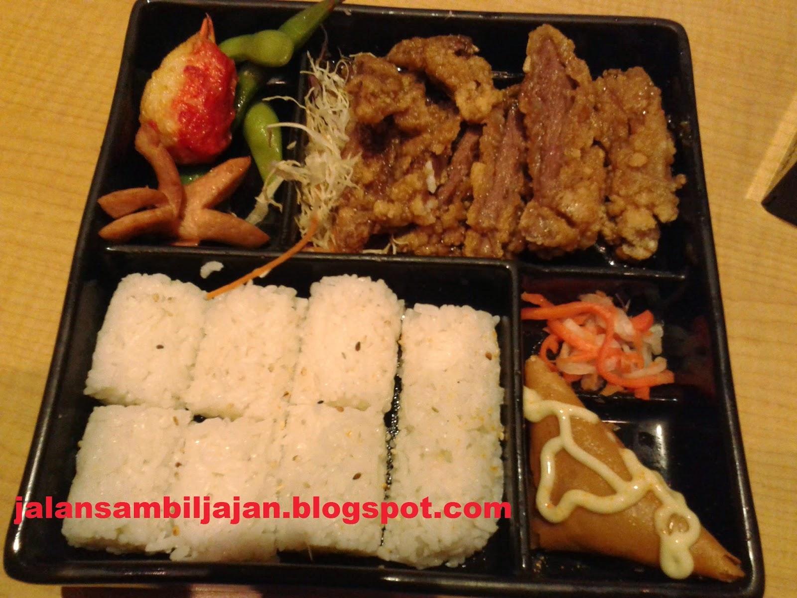 Beef Teriyaki Bento Bentoya
