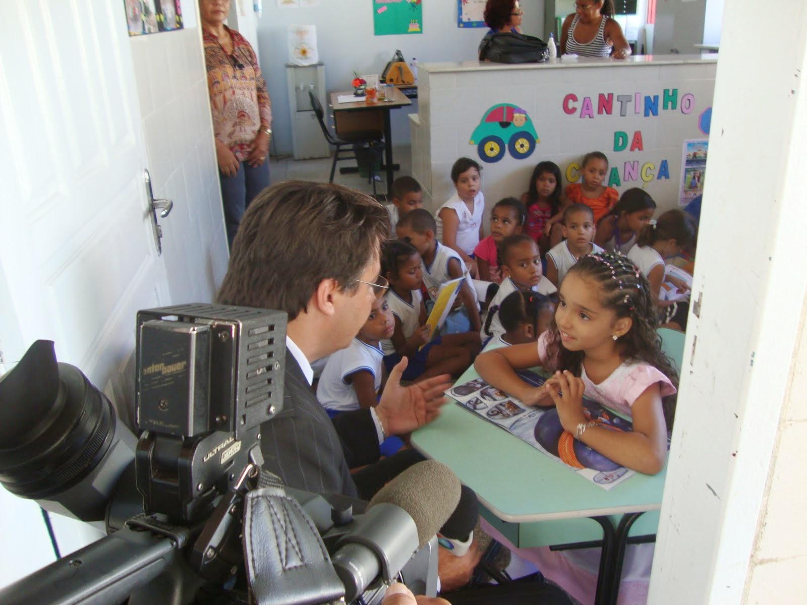 Com o repórter  Aélio Argolo