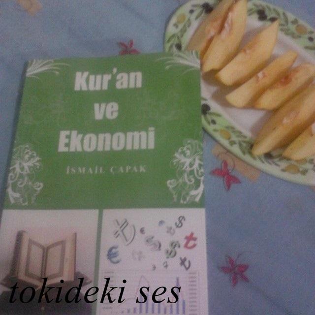 okuduğum kitap, kitap yorumu, kitap önerisi, kitaplar, kitap yorum,İsmail Çapak,kuran ve ekonomi kitabı
