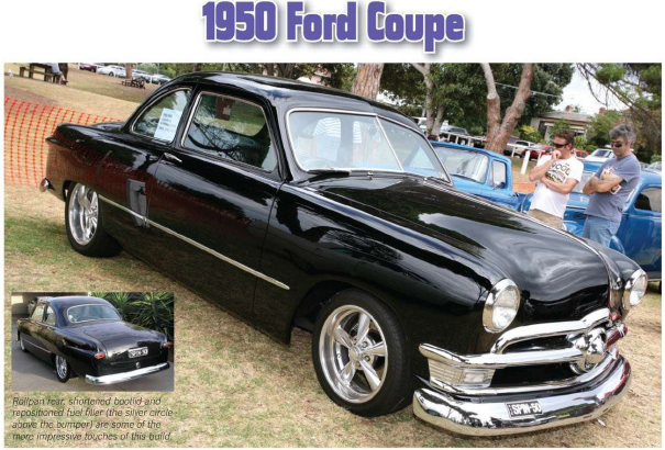 automotive europe 1950 ford coupe. Black Bedroom Furniture Sets. Home Design Ideas