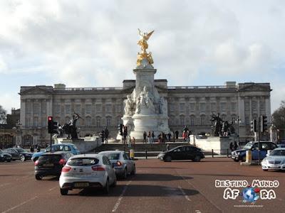 Palácio de Buckingham, em Londres