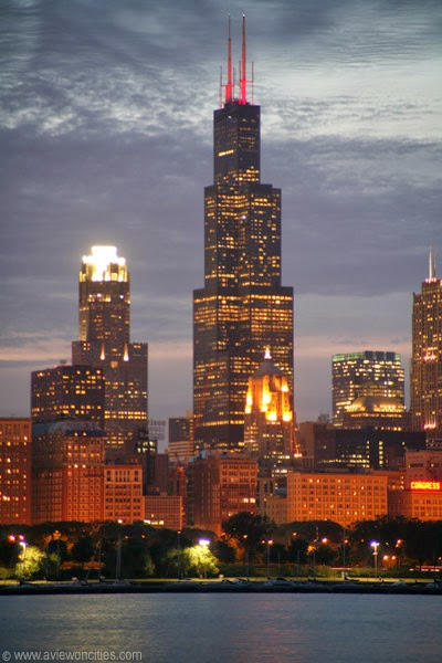 Sears-Tower-night