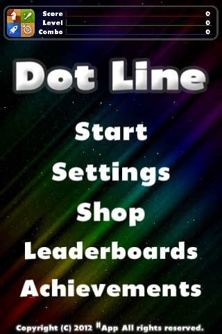 Dot Line Free App Game By #App