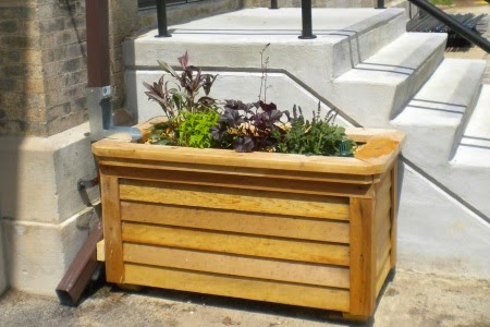 spaces wood small raised recycled using planter diy backyard patio with for cover garden and ideas box mix boxes soil