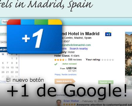 Google presenta su boton +1