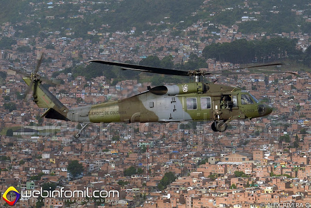 S70i Ejercito Colombia Sikorsky