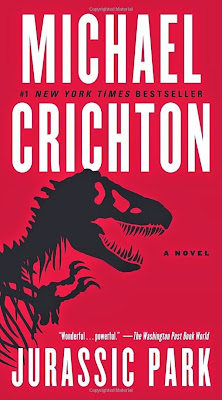 Jurassic Park by Michael Crichton is a great techno thriller.