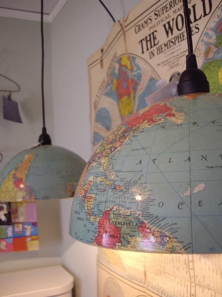 Globe lightshades