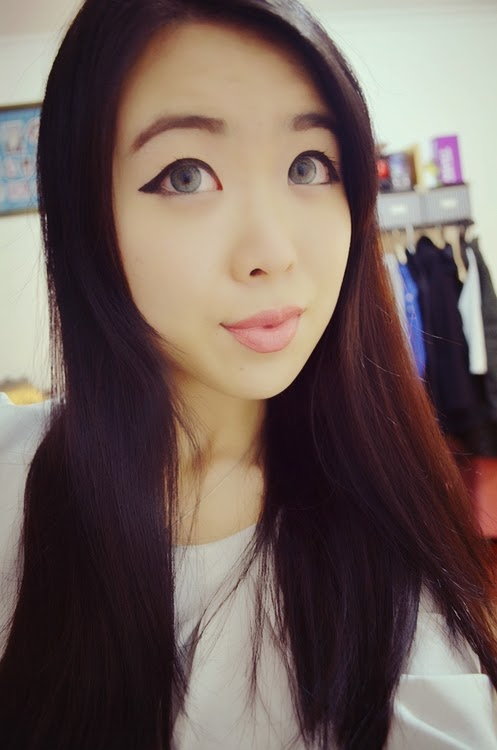 Barbie Puffy 3 Tones Grey: Perfect Circle Lenses for Dark Eyes