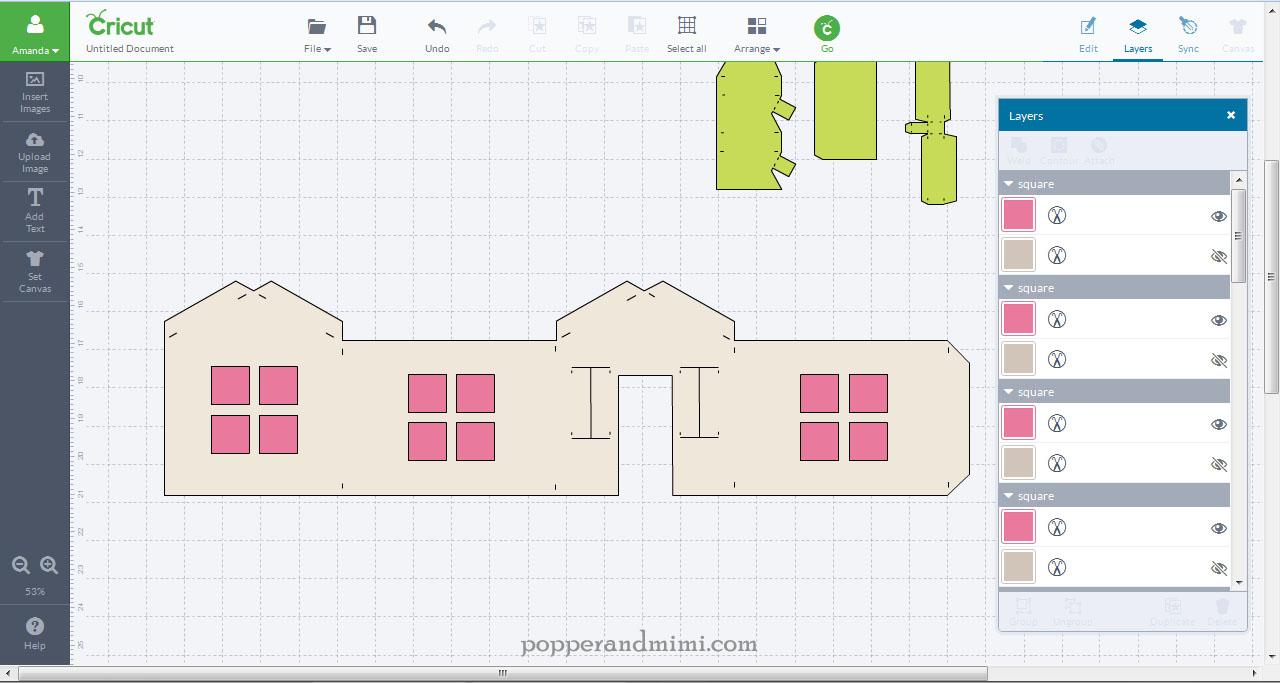 Edit cut files in Cricut Design Space software | popperandmimi.com