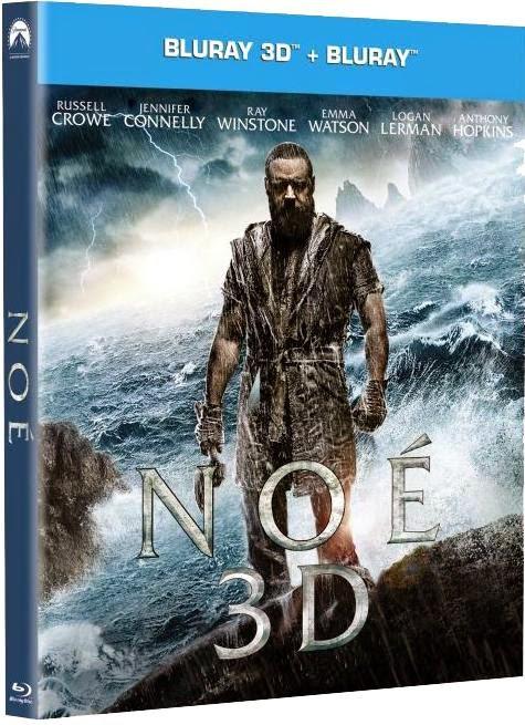 Noah 3D (Noé 3D)(2014) 1080p BRRip 3D SBS 3.3GB mkv Dual Audio DTS 5.1 ch
