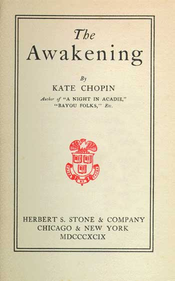 the influence of mademoiselle reisz in the awakening by kate chopin Author: kate chopin published: 1899 table of contents • so what • summary mademoiselle reisz is a strange the awakening q&a there was an error saving please reload the page slader homework solved about advertise.