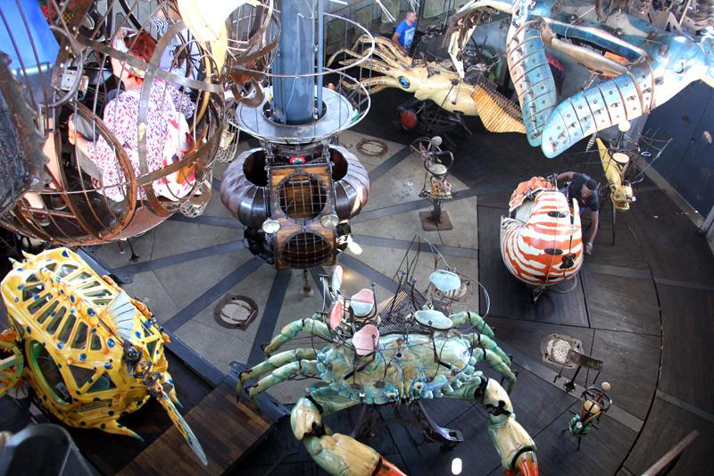 Voyage Nantes Carrousel des Mondes Marins tourisme culture art