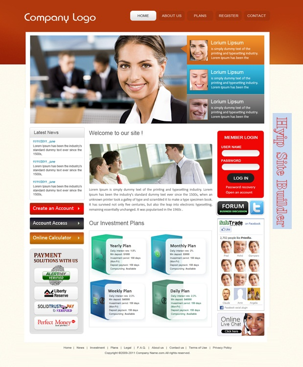 buy hyip template  Buy Hyip Software and templates
