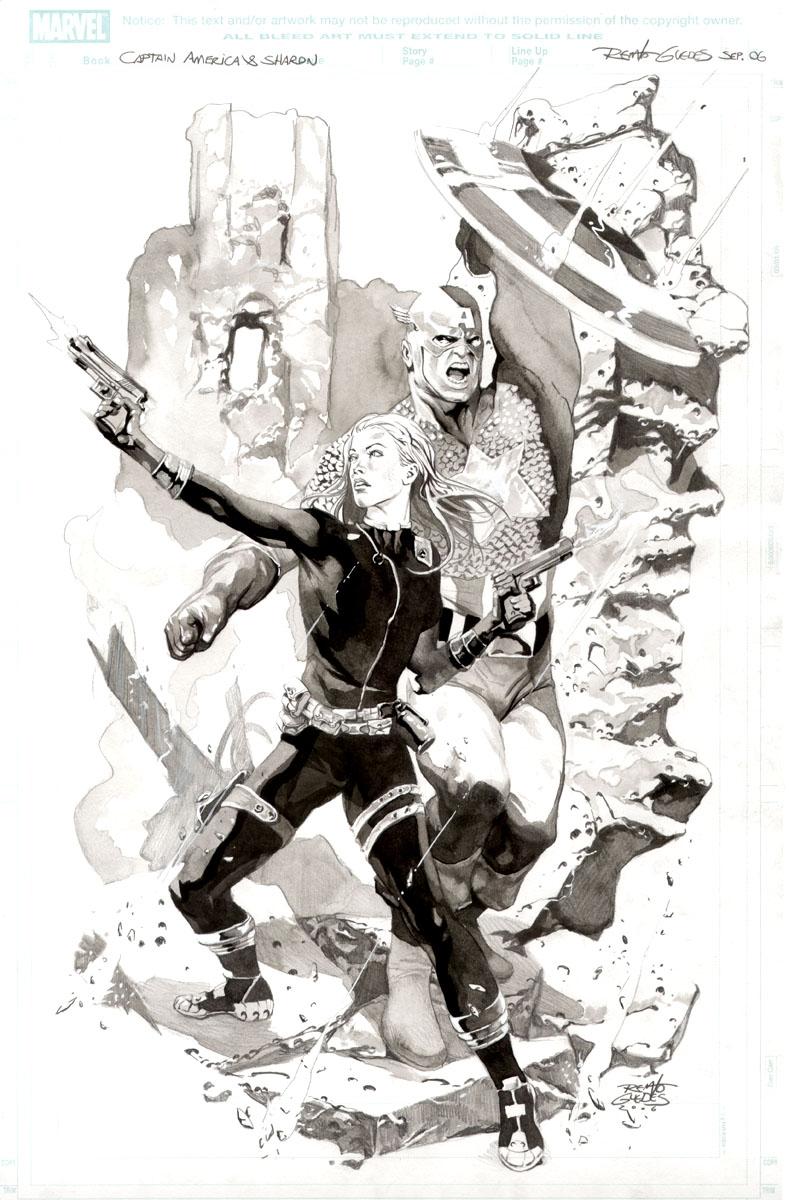 Entrevista a Renato Guedes (Dibujante Marvel, DC y mas)