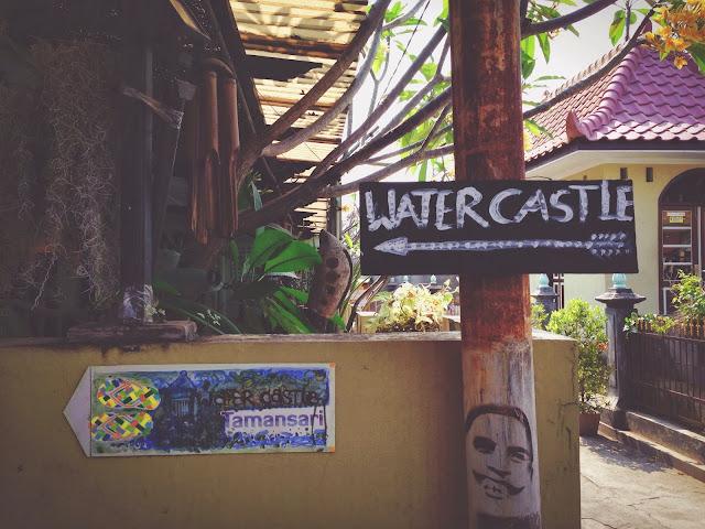 Way to Yogyakarta Taman Sari (Water Castle)