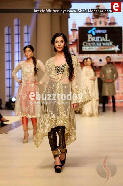 Faraz Mana Bridal Wear at #TBCW2014 Day-1