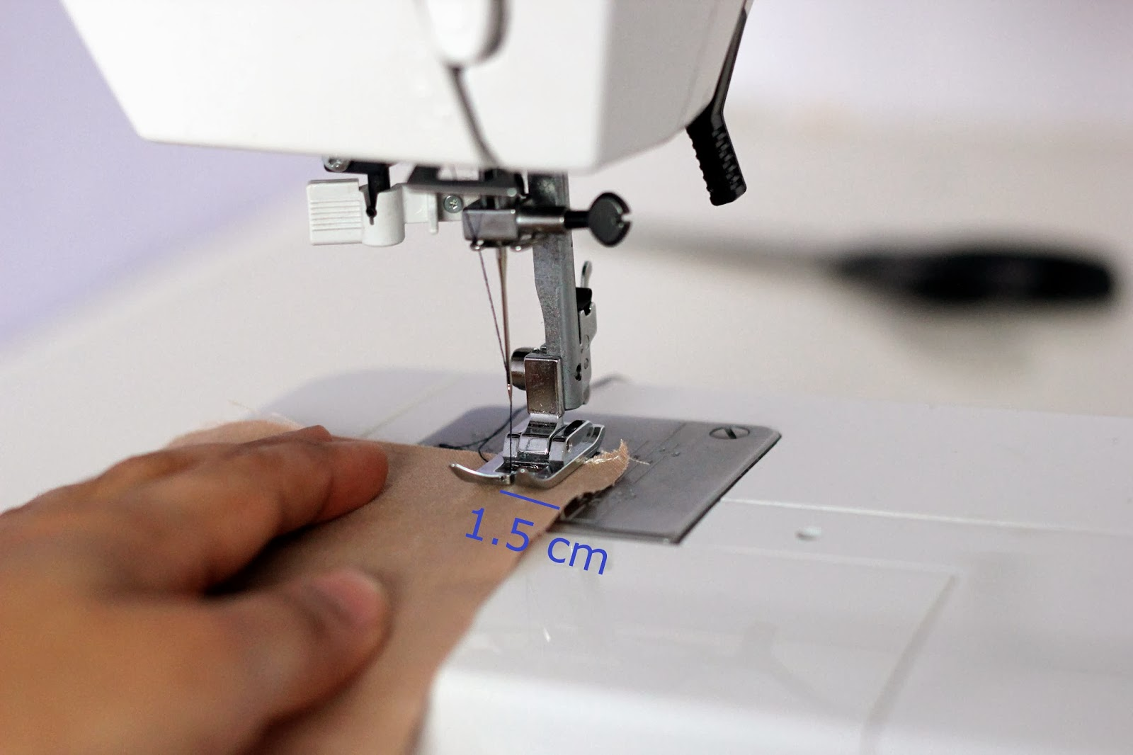 How to sew for a particular seam allowance