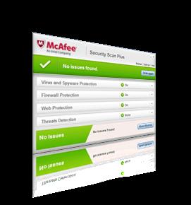 تحميل برنامج mcafee virusscan plus للحماية من الفيروسات