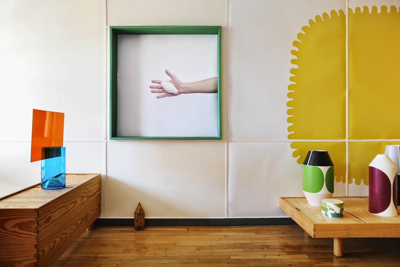 Pierre Charpin im Apartment 50 in Marsaille - modernes Design und Wohnen trifft auf Le Corbusier