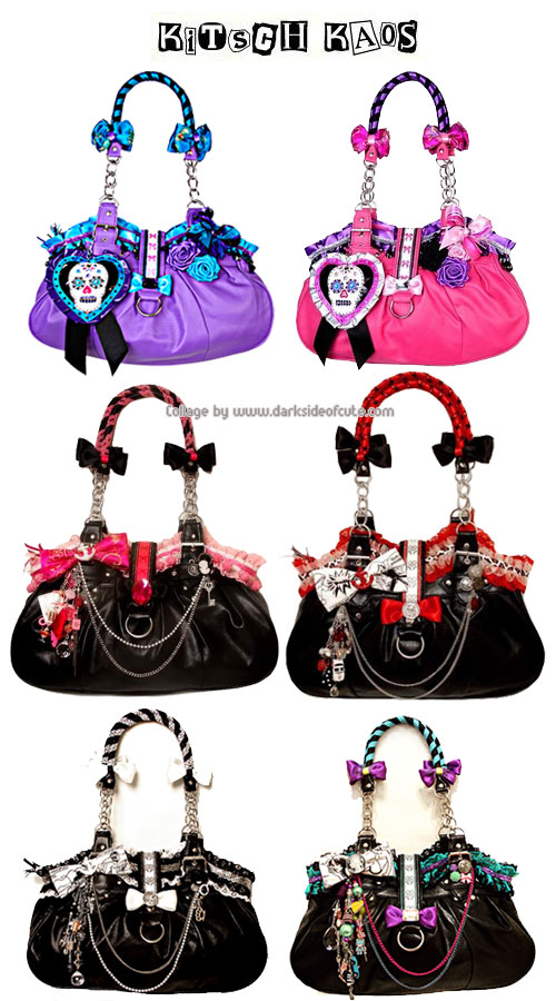 Dark Side of Cute - Kitch Kaos Gothic and Punk Bags