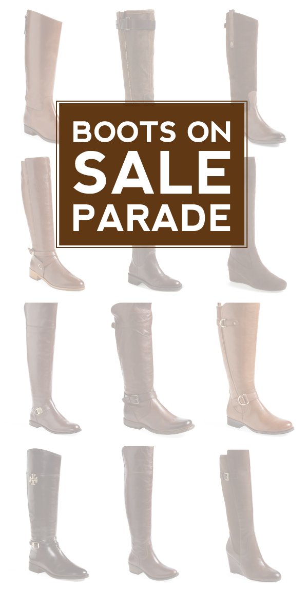 boots on (sale) parade via @nordstrom | #nsale