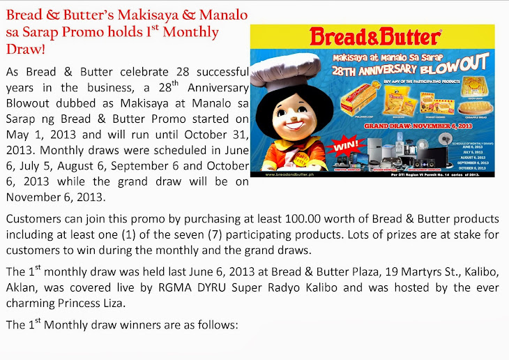 Bread & Butter 28th Anniversary Blowout