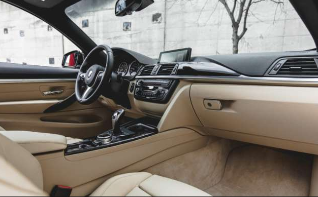 2017 BMW 4 Series Interior