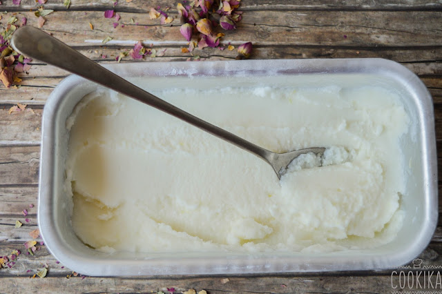 Kefir Lemon Ice Cream