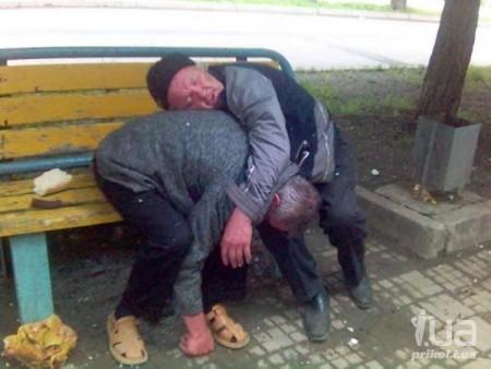 секс с бомжами и пьяницами