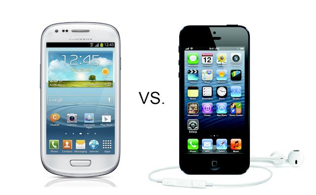 samsung galaxy s3 mini vs iphone5