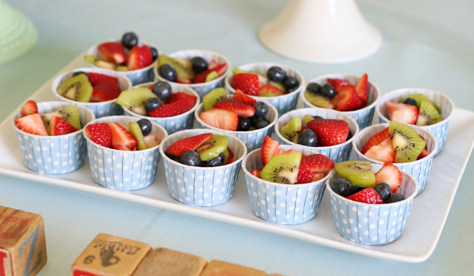 Fresh fruit served in individual treat cups (these are from Shop Sweet ...