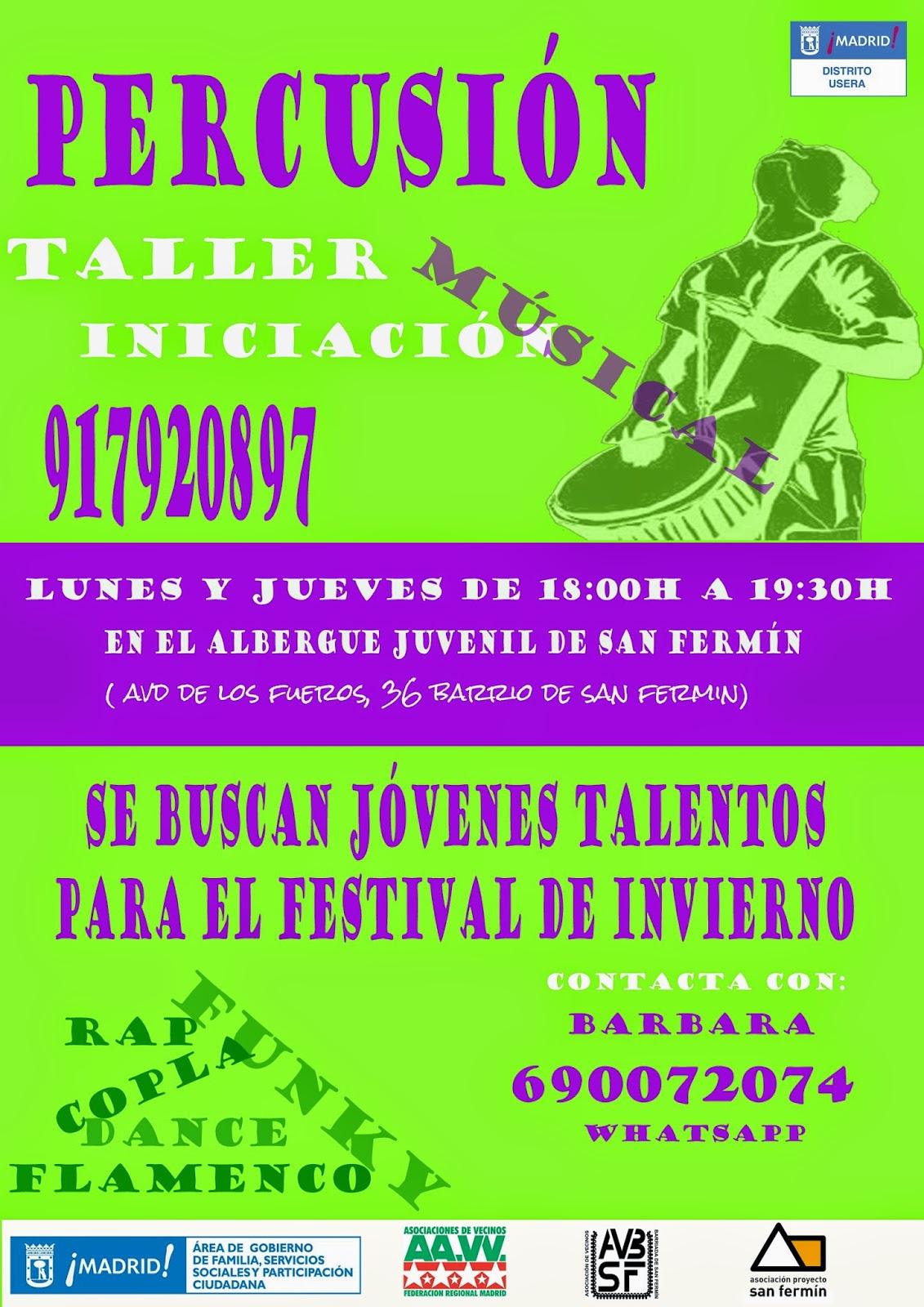 AAVV San Fermín - Taller de Percusión