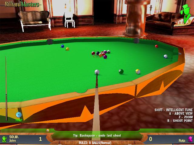 لعبة بلياردو المحترفين Billiard Masters