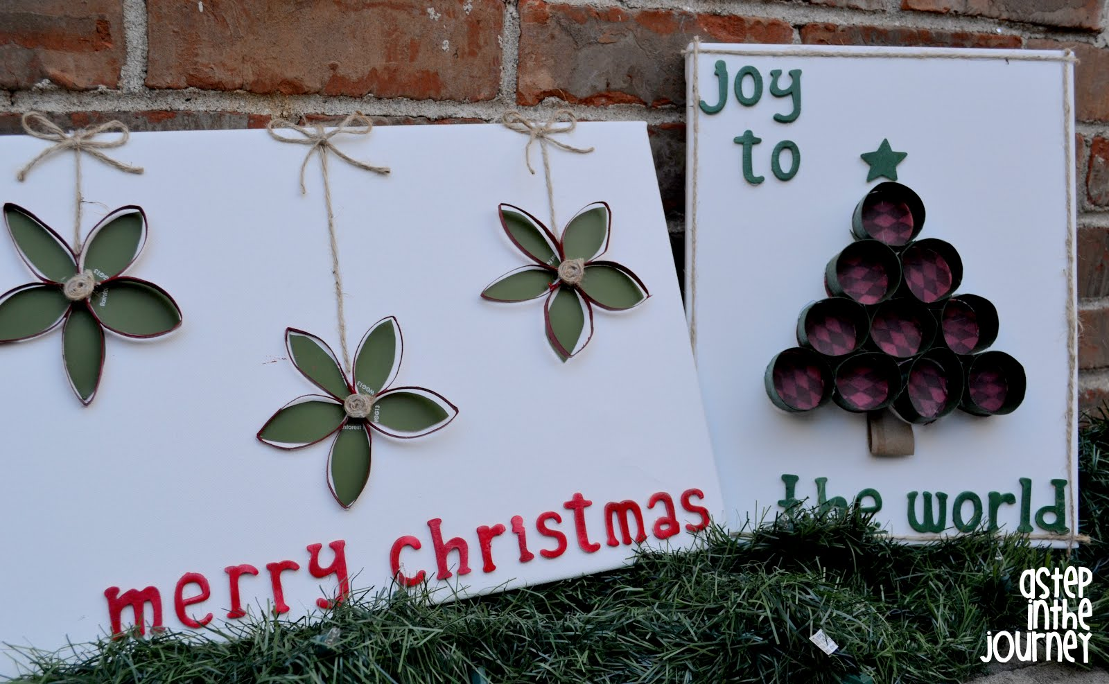 Christmas canvas art jeuxipadfo Image collections