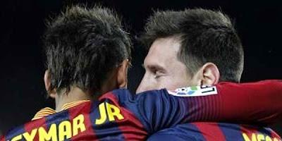 Apa Neymar Bermusuh dengan Messi