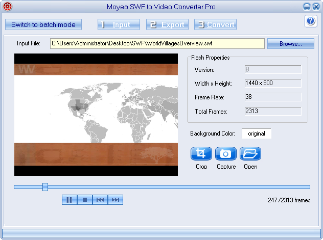 Swf To Avi Online Free Converter