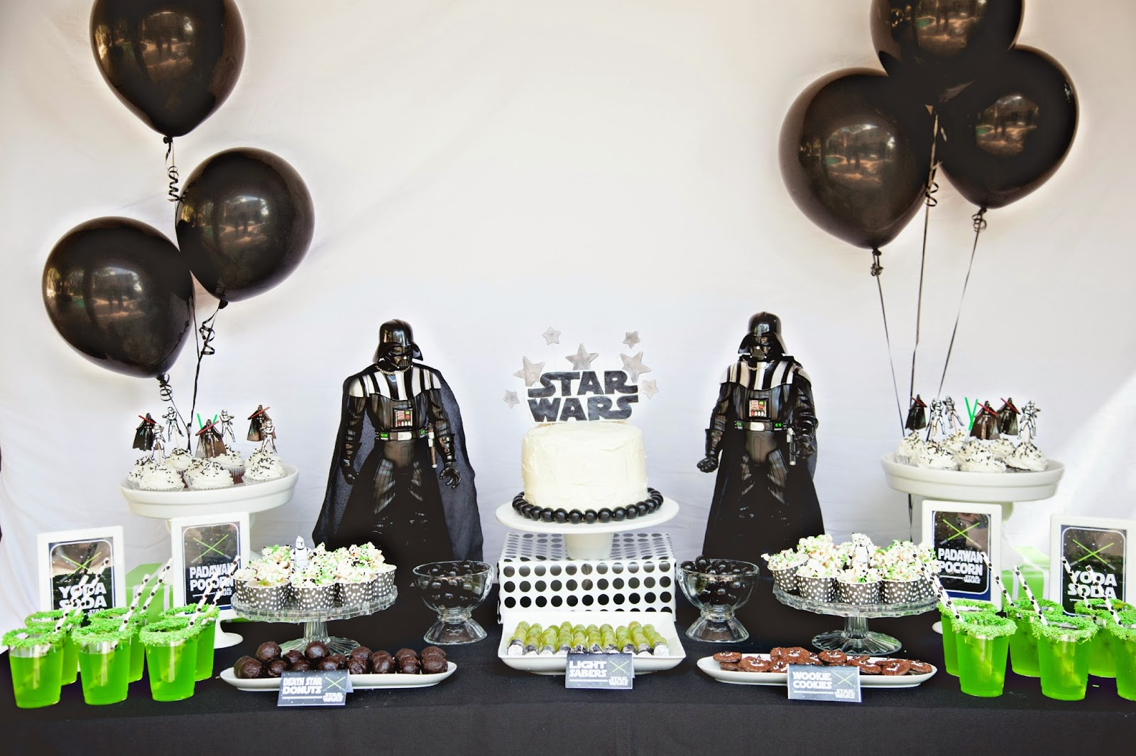 star wars party by bridgey widgey - Star Wars Party Decorations