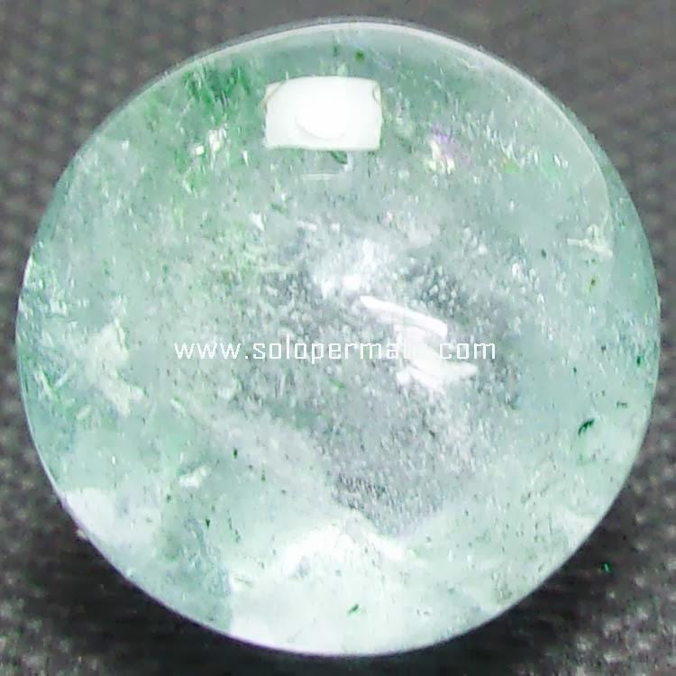 Batu Permata Greenish Blue Beryl Aquamarine - 08B03