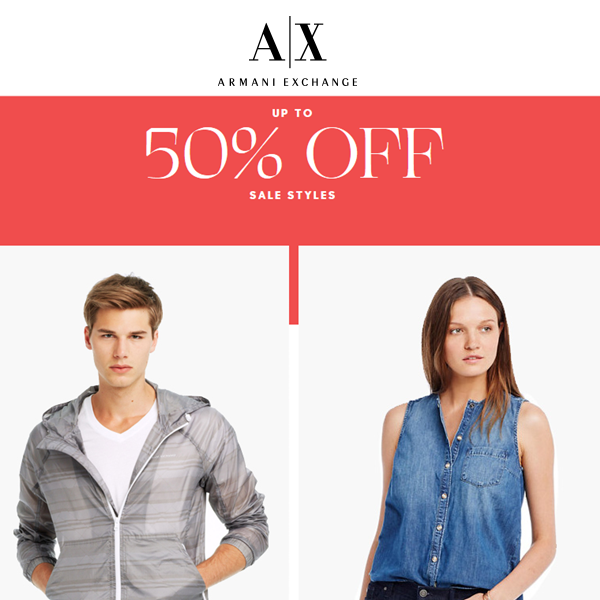 http://www.armaniexchange.com/category/mens/sale+promo.do?axcmp=emails&bro_mid=57429571&bro_rid=0bc303e80000000000000000000006e9d4d3