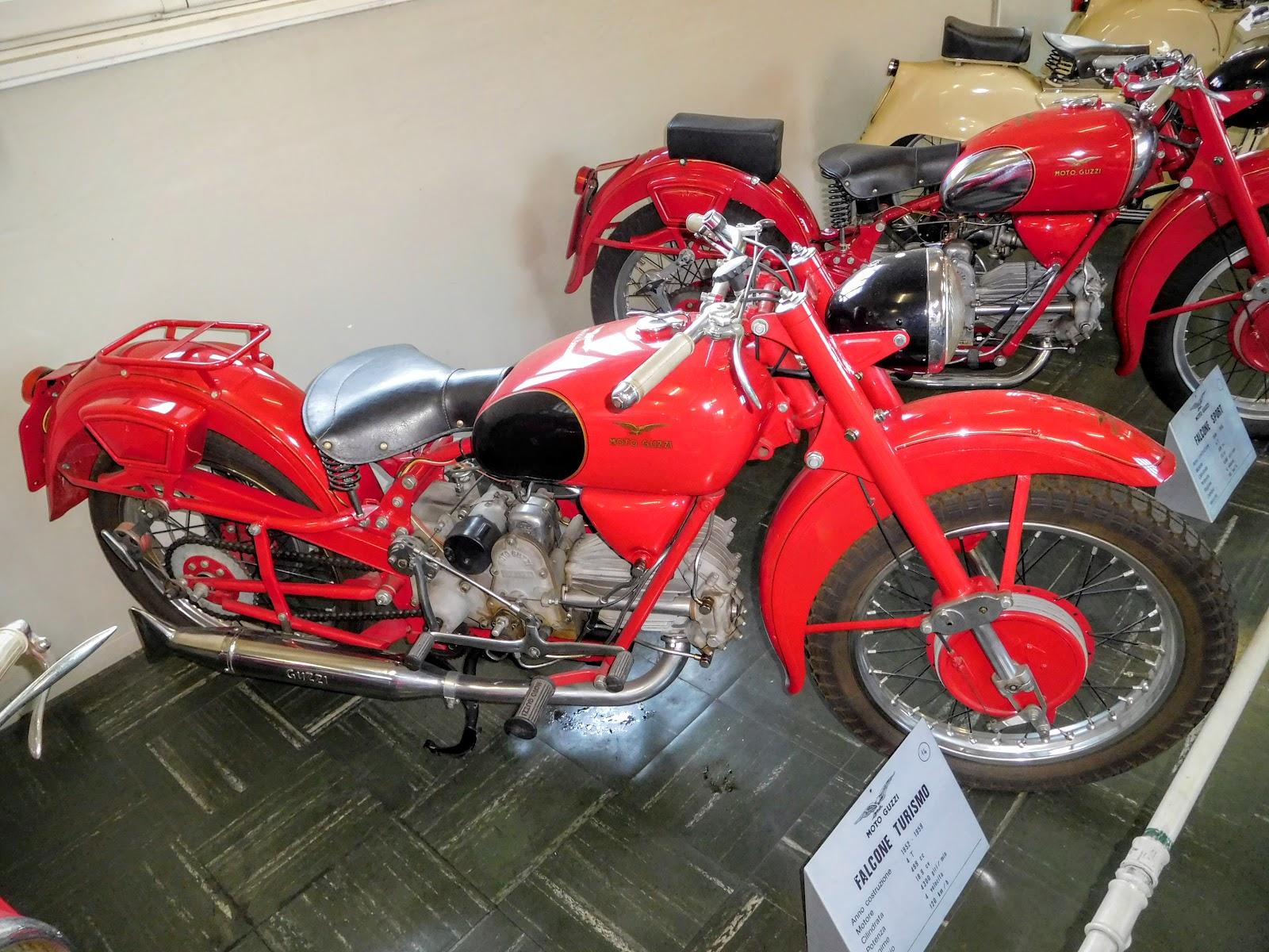 Tigho NYDucati: 1952-59 Moto Guzzi Falcone Turismo