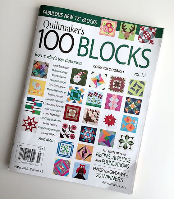 Quiltmaker's 100 Blocks magazine
