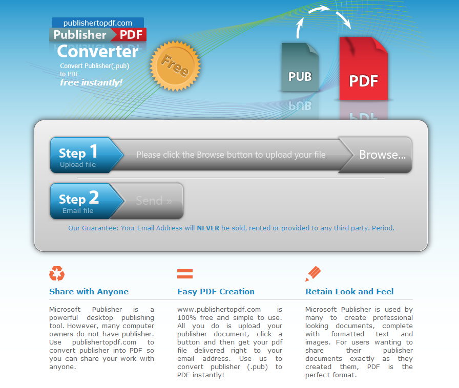 convert pdf to publisher document free
