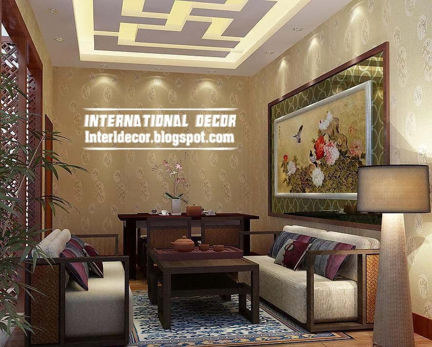 June 2014 interior home decors Living room ceiling lighting ideas