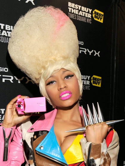 Nicki Minaj Without A Wig Or Weave Chatter Busy: Nicki Mi...
