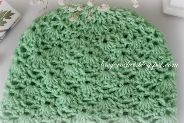 Crochet Baby Hat Patterns 6 Months : Lacy Crochet: Crochet Baby Hat Size 6 ? 12 months ...